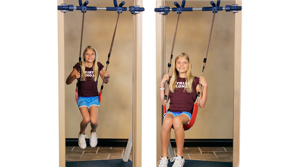 Indoor swing package sensational kids