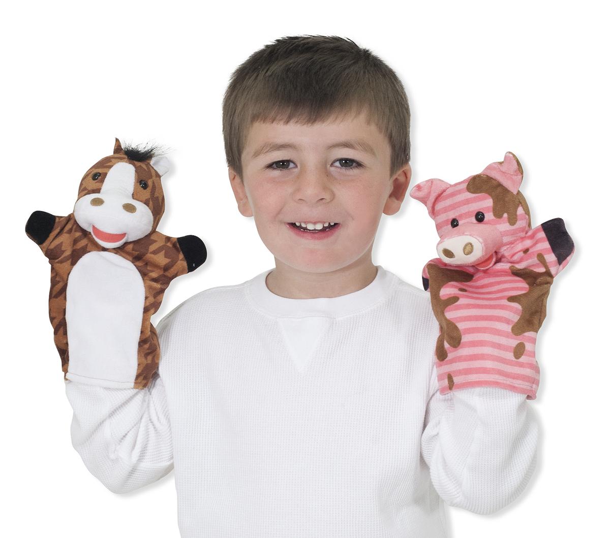 Farm Friends Hand Puppets Sensational Kids