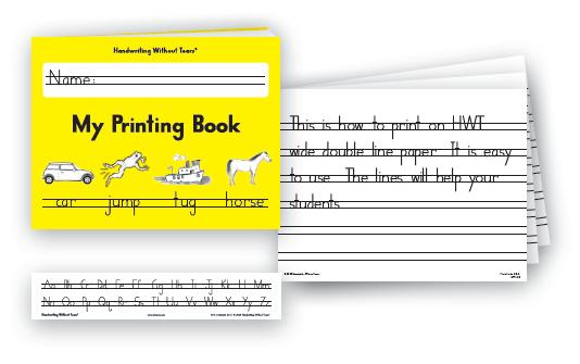 my printing book – sensational kids