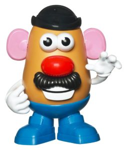 picture regarding Mr Potato Head Printable Parts named Having Mr Potato Thoughts toward Build Your Childs Total